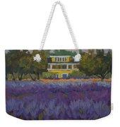 Lavender Farm On Vashon Island Weekender Tote Bag