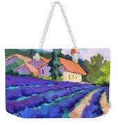 Lavender Field In St. Columne Weekender Tote Bag