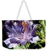 Lavender Hibiscus Weekender Tote Bag