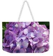 Lavender Hydrangea Weekender Tote Bag