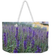 Lavender In The City Park Weekender Tote Bag