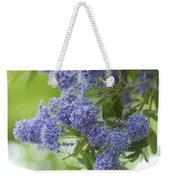 Lavender Pompoms Weekender Tote Bag