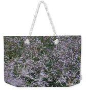 Lavender Silver Lining Weekender Tote Bag