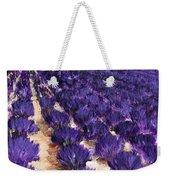 Lavender Study - Marignac-en-diois Weekender Tote Bag