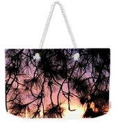 Lavender Sunset Painting Weekender Tote Bag