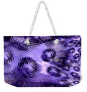 Lavender Water Abstract Weekender Tote Bag