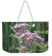 Lavender Wildflower Weekender Tote Bag