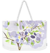 Lavender With Missouri Dogwood In The Window Weekender Tote Bag