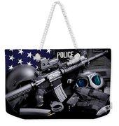 Law Enforcement Tactical Police Weekender Tote Bag