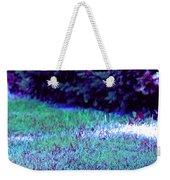 Lawn Blue Weekender Tote Bag