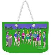 Lawn Party  Weekender Tote Bag