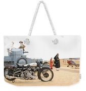 Lawrence Of Arabia Display At The Goodwood Revival Meeting Weekender Tote Bag