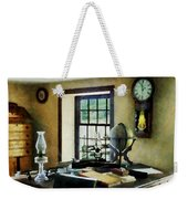 Lawyer - Globe Books And Lamps Weekender Tote Bag
