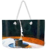 Lawyer - Quill And Spectacles Weekender Tote Bag