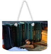 Lawyer - The Code Of Criminal Justice Weekender Tote Bag