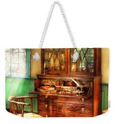 Lawyer - The Lawyers Study Weekender Tote Bag by Mike Savad