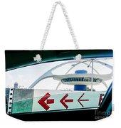 Lax Exit Arrows Weekender Tote Bag