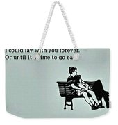 Lay Together Weekender Tote Bag