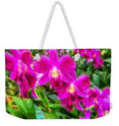 Layer Cut Out Art Flower Orchid Weekender Tote Bag