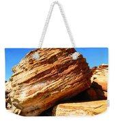 Layered Broome Rock Weekender Tote Bag