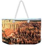 Layered Hoodoos At Bryce Canyon National Park Weekender Tote Bag