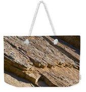 Layered Rock Weekender Tote Bag