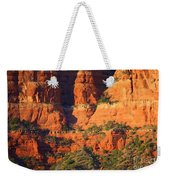 Layers Of Red Rock Weekender Tote Bag