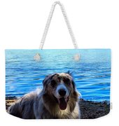 Layin On The Beach Weekender Tote Bag