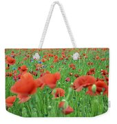 Laying In The Poppy Field Weekender Tote Bag