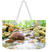 Lazy Rapids Open Weekender Tote Bag