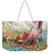 Lazy Summer's Day By Jan Matson Weekender Tote Bag