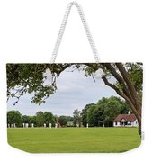 Lazy Sunday Afternoon - Cricket On The Village Green Weekender Tote Bag