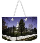 Lds Idaho Falls Temple Weekender Tote Bag