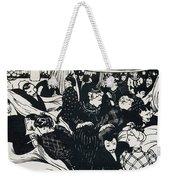 Le Bon Marche Weekender Tote Bag