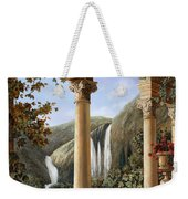 Le Cascate Weekender Tote Bag by Guido Borelli