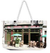 Le Charleston Bar In Tournus Weekender Tote Bag