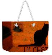 Le Chat Weekender Tote Bag