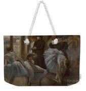 Le Foyer De L'opera Weekender Tote Bag by Edgar Degas