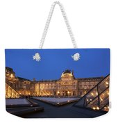 Le Louvre Palace Buildings And Pyramids Weekender Tote Bag
