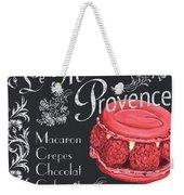 Le Macron De Provence Weekender Tote Bag