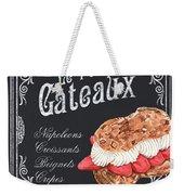Le Petit Gateaux Weekender Tote Bag by Debbie DeWitt