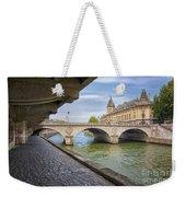 Le Pont Napoleon Paris Weekender Tote Bag