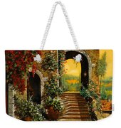 Le Scale   Weekender Tote Bag by Guido Borelli