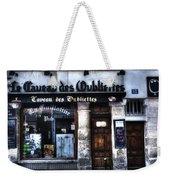 Le Taveau Des Oubliettes Paris France Weekender Tote Bag