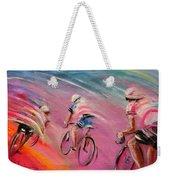 Le Tour De France 16 Acrylics Weekender Tote Bag