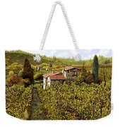 Le Vigne Toscane Weekender Tote Bag by Guido Borelli