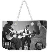 Leadbelly, Josh White, Nicholas Ray Weekender Tote Bag