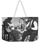 Leadbelly, Nicholas Ray, Josh White Weekender Tote Bag