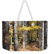 Leading To Autumn Weekender Tote Bag