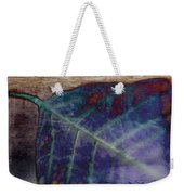 Leaf Abstract Weekender Tote Bag